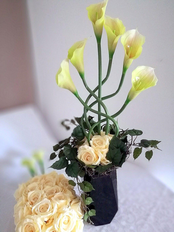 Zestaw Na Cmentarz Kremowe Roze Nr 132 Swiateczne Atelier Home Decor Decor Vase