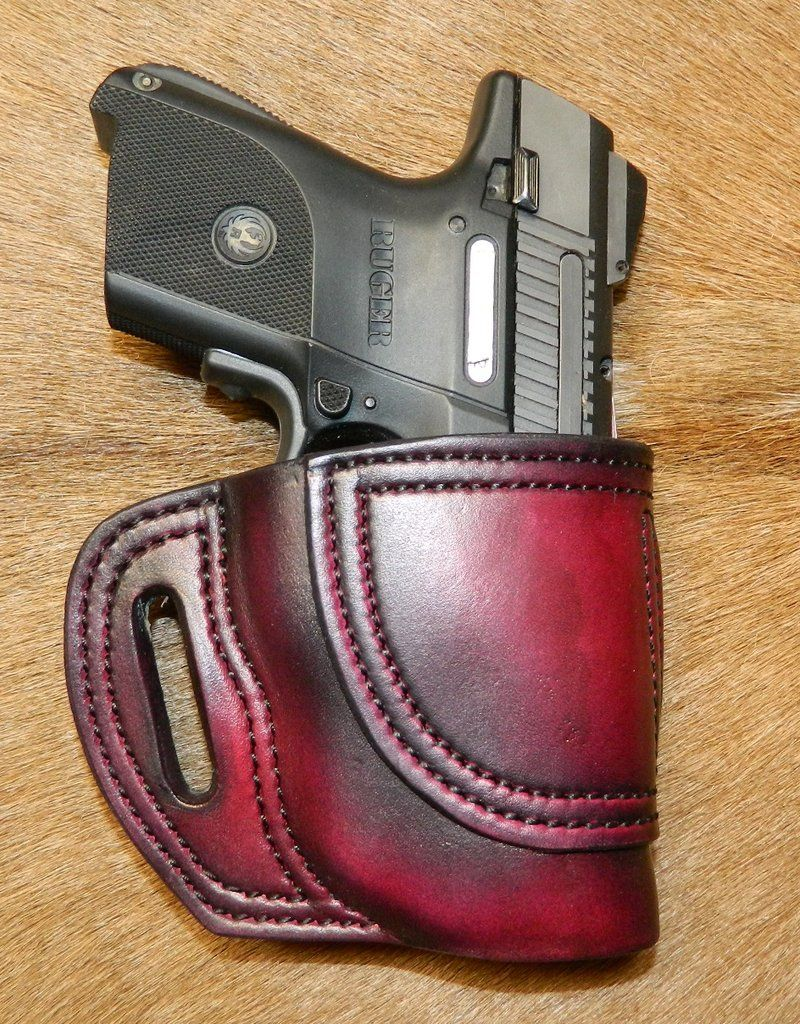Gary C's Avenger Right Hand Holster for Ruger SR9C/SR40C with CT