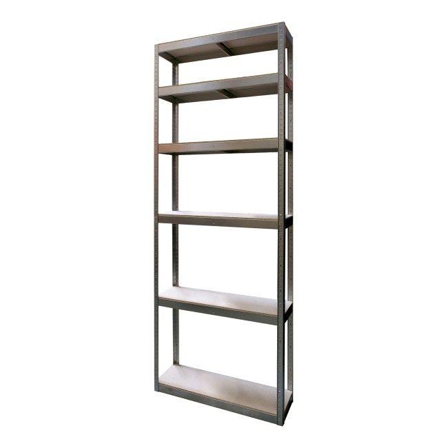 Regal Magazynowy Bayersystem 90 X 40 X 225 Cm Regaly Metalowe Wolnostojace Regaly Przechowywanie Urzadzanie Produkty Home Decor Decor Bookcase