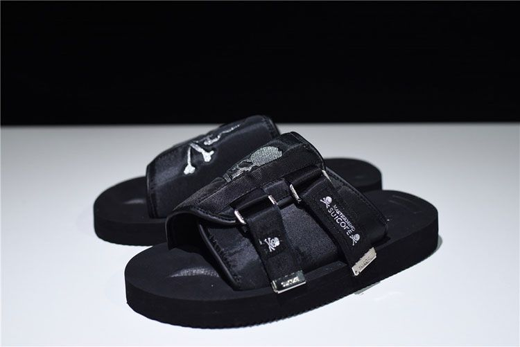 181579b502 Mastermind Japan x Suicoke Moto-Vs Slipper men and women sandals triple  black
