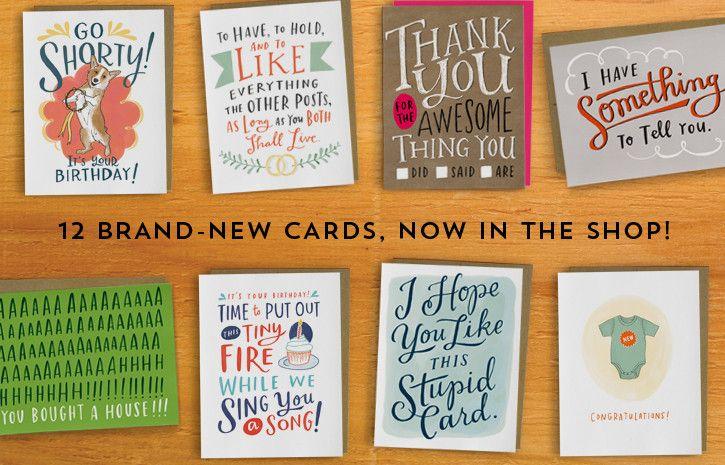 Emily Mcdowell Illustrator Designer Truth Teller Emily Mcdowell Greeting Cards Cards