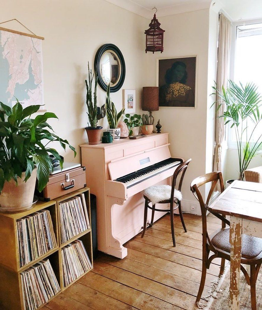 Tumblr Piano Room Decor Piano Living Rooms Piano Decor Living room ideas piano