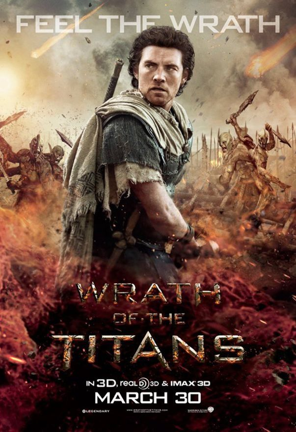 Wrath Of The Titans Movie Poster Furia De Titas Posteres De