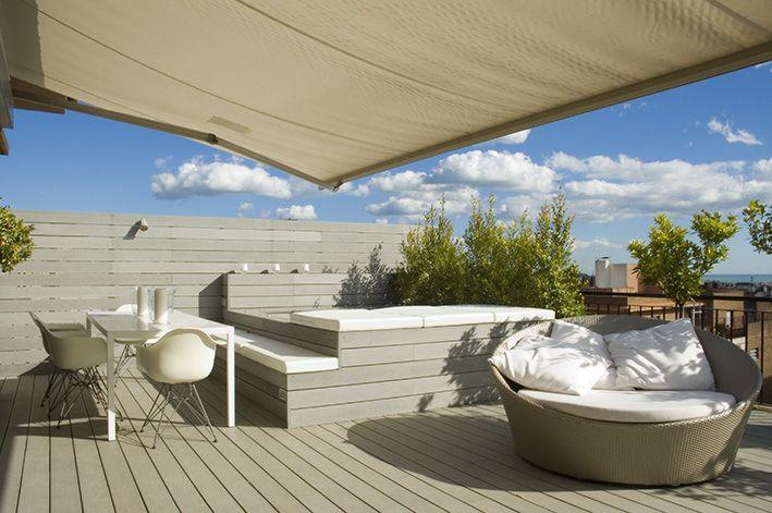 Dise o terrazas dise o exteriores decoraci n exteriores - Decoracion terrazas ...