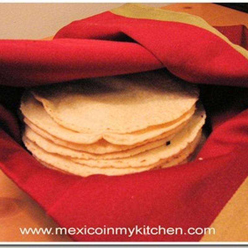 Mexico in my Kitchen: How to Make Homemade Corn Tortillas