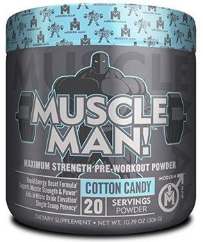 50% off Muscle Man Pre-Workout Muscle Builder   Amazon Promo