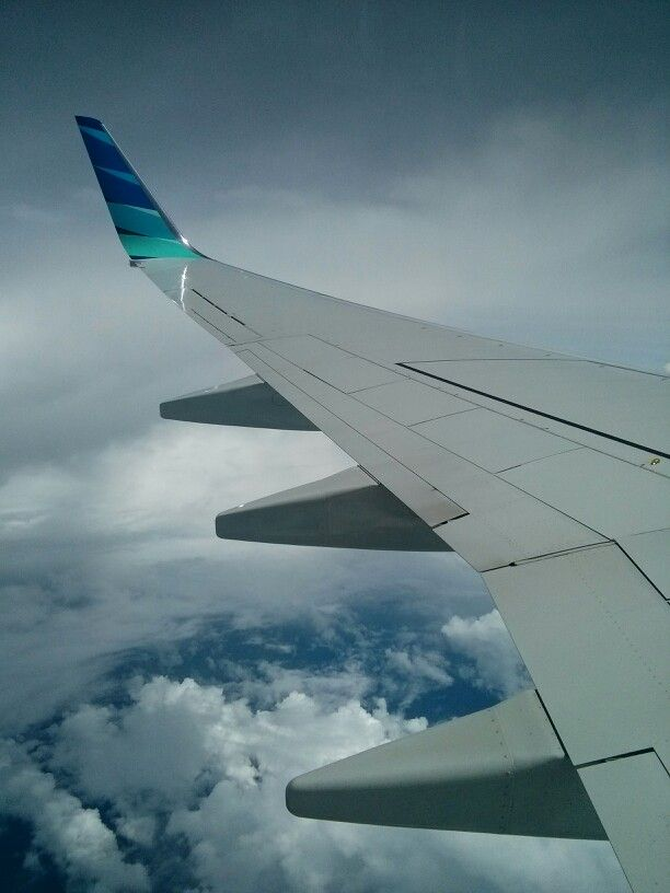 Winglets On Garuda Indonesia Airlines Penerbangan Fotografi Perjalanan Perjalanan
