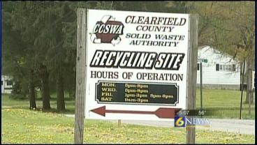 CLEARFIELD, Pa. — Members of the Clearfield County Solid Waste Authority approached the Clearfield County commissioners on Tuesday about financial problems the organization is facing. The organization told commissioners that its illegal dumping and recycling programs are running out of funding.Recycling, illegal dumping programs may be in jeopardy