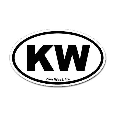 Key west decal on my car