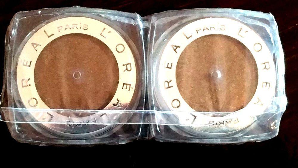 2X New Loreal Infallible 24hr eye shadow 408 GLEAMING BRONZE pro eyeshadow Seale #LOreal