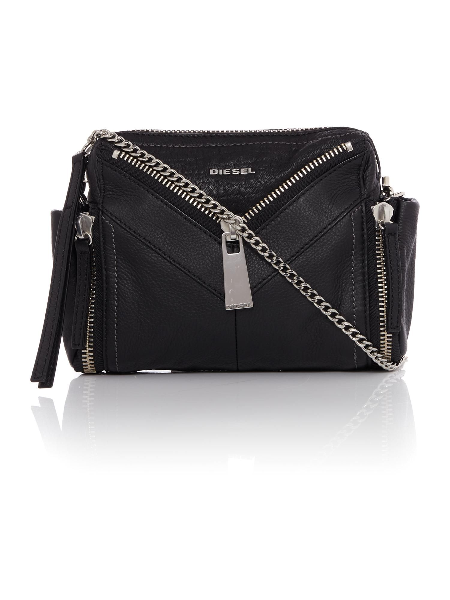 71108487aadd Diesel Le-zipper Le-bhonny Crossbody Bag - House of Fraser
