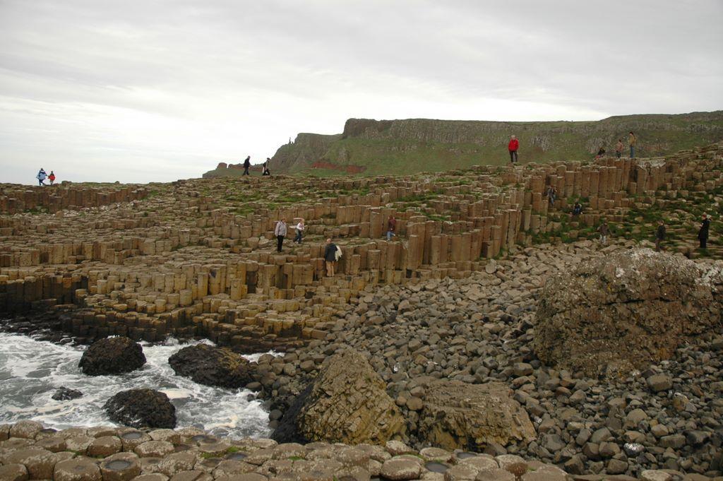 Natural rock formation Ireland