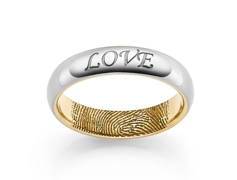 Liebessymbole In Form Einer Ringgravur Acredo Ringe Sind So