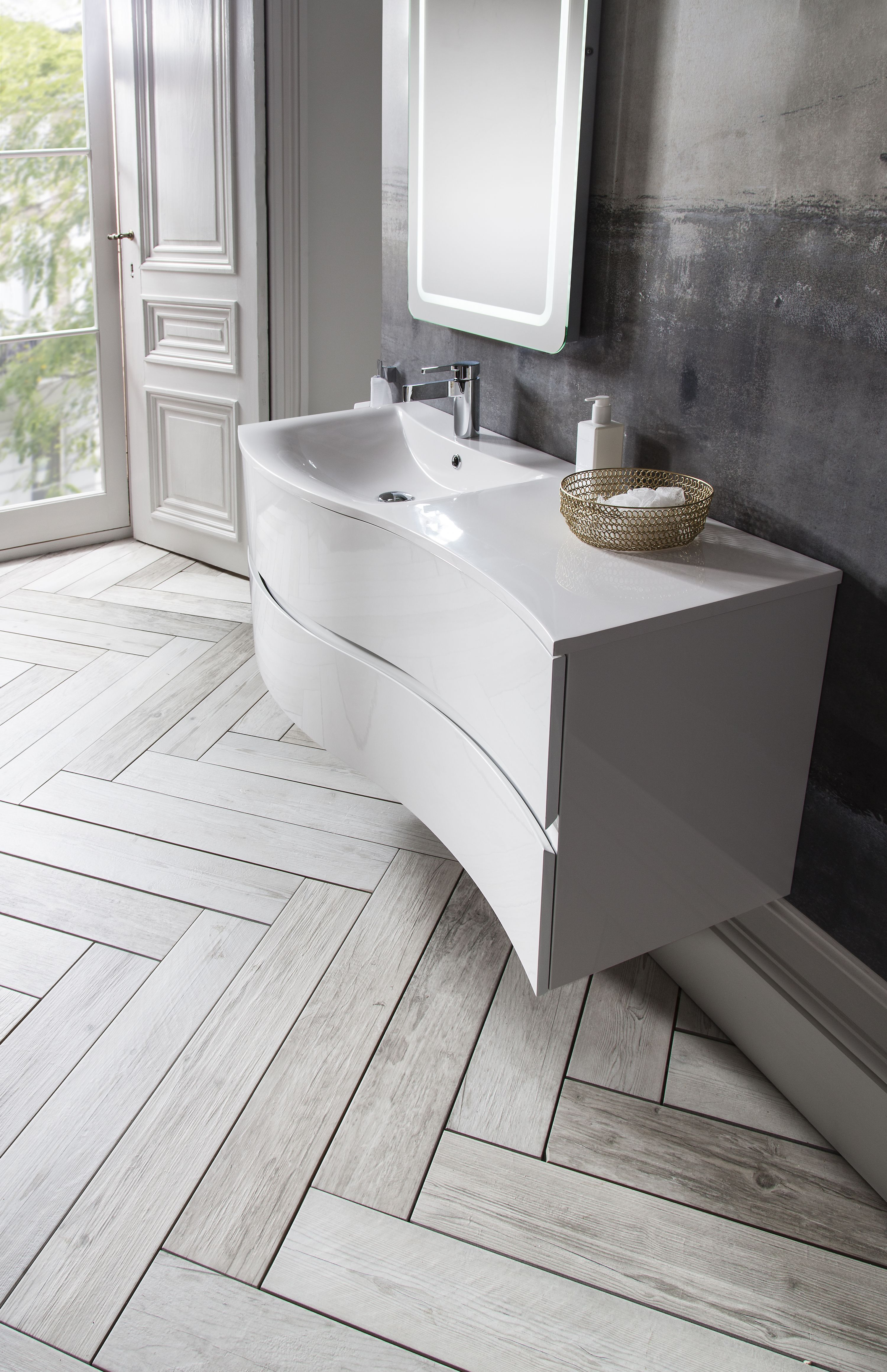 Up To The Minute Technology Soft Close Drawer Runners Provide Gentle Smooth Quiet Closure Bathroom Vanity Units Basin Vanity Unit Bathroom Vanity Units Uk
