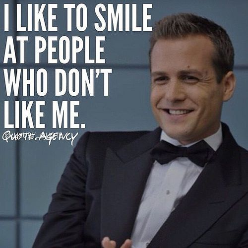 Quote Suits And Harvey Specter Image More Smile Quotes