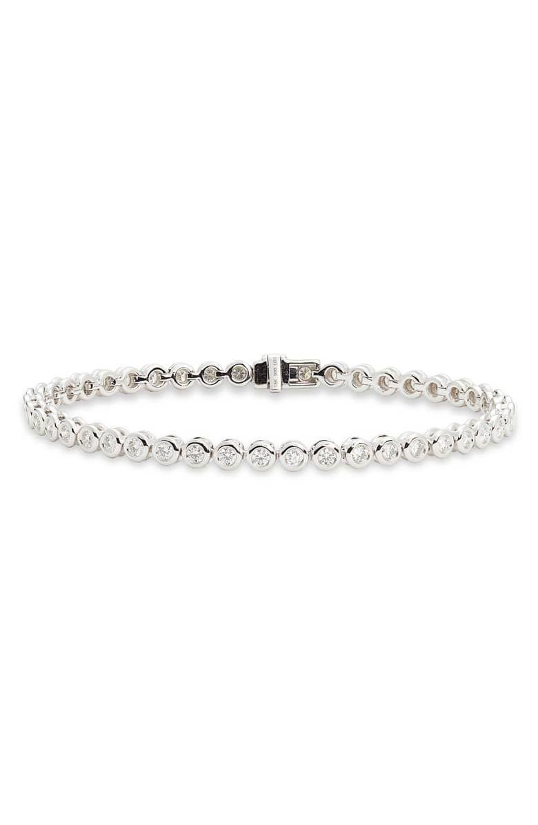 af4d75be8b9 Monaco Diamond Tennis Bracelet, Main, color, WHITE GOLD/ DIA ...