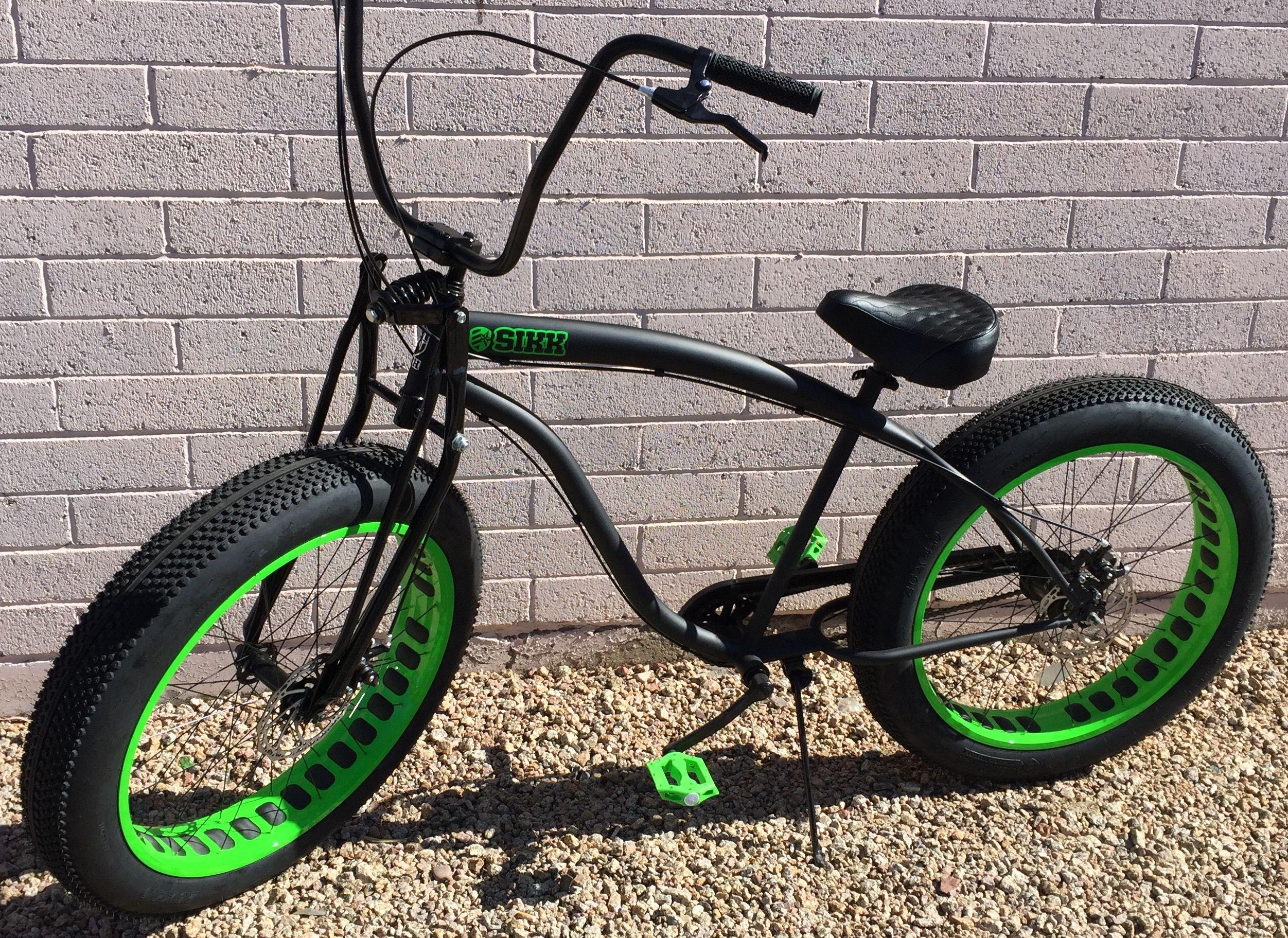 Pin On Custom Fat Tire Bike W Springer Forks