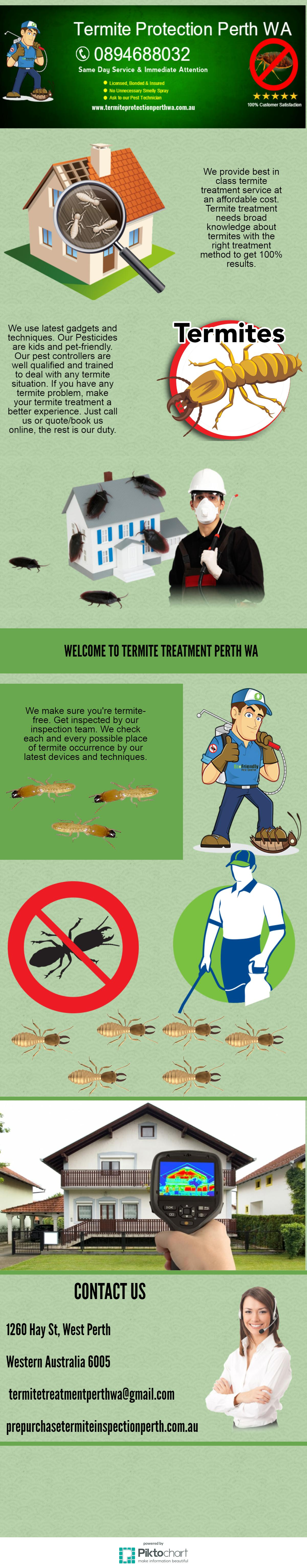 To make your house termitefree,