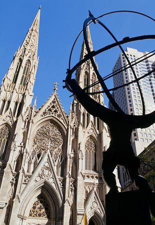 st patricks cathedral nyc architect james renwick jr gothic