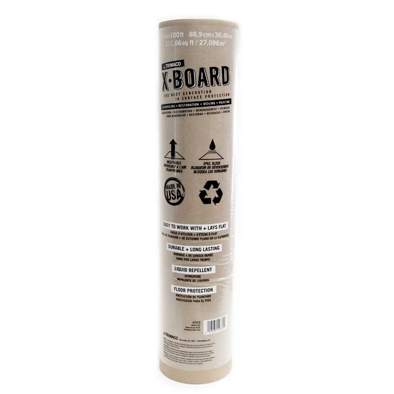 Trimaco 12370 X Board Surface Protector 35 X 100 Ft Roll Surface Rosin Paper The 100