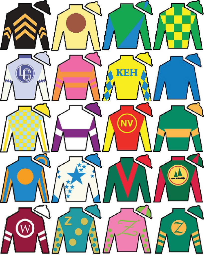picture about Kentucky Derby Printable Lineup named KENTUCKY DERBY JOCKEY SILKS Kentucky derby bash within just 2019