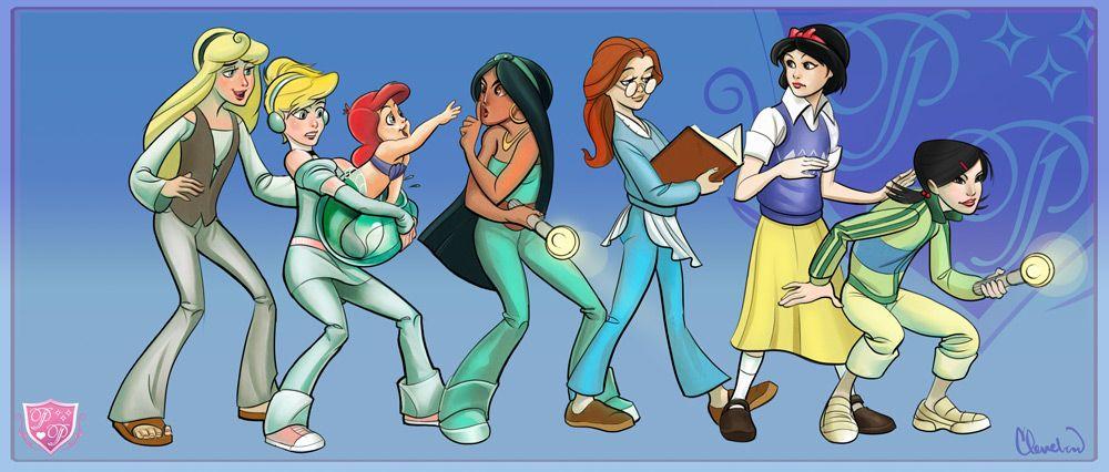 Disney Princesses Modern Day Scenarios | www.pixshark.com ...