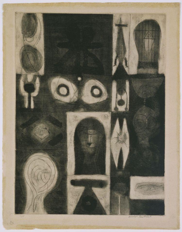Apparition by Adolph Gottlieb