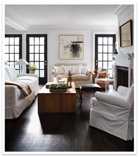 Sometimes I Like No Rug Living Room Inspiration Black Interior Doors Home Living Room