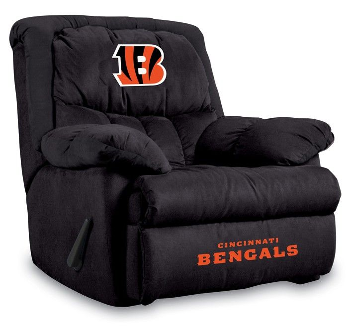 Cincinnati Bengals NFL Home Team Recliner Chair/Furniture