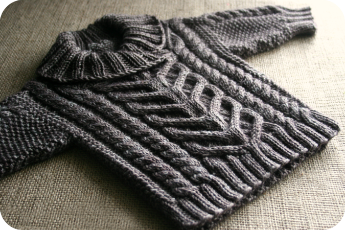 f49b14e66 Never Not Knitting  A Sweater for Leo form 60 Quick Baby Knit. Who ...