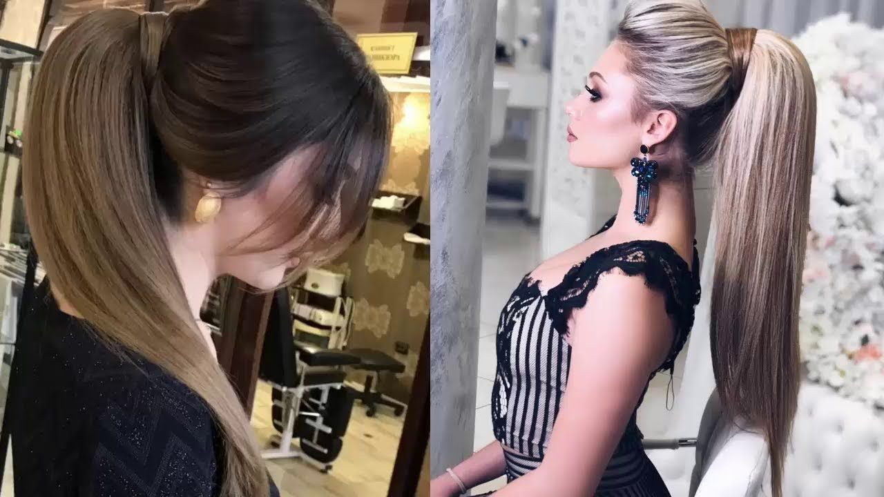 Cute Ponytail Hairstyles For Straight Hair - Easy ponytail