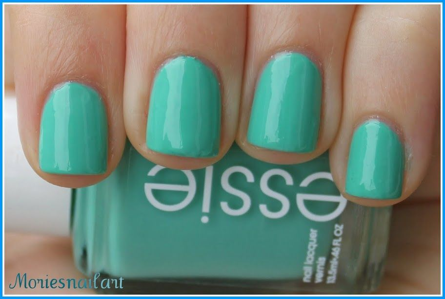 My new favorite: Essie Turquoise and Caicos | nails. | Pinterest ...