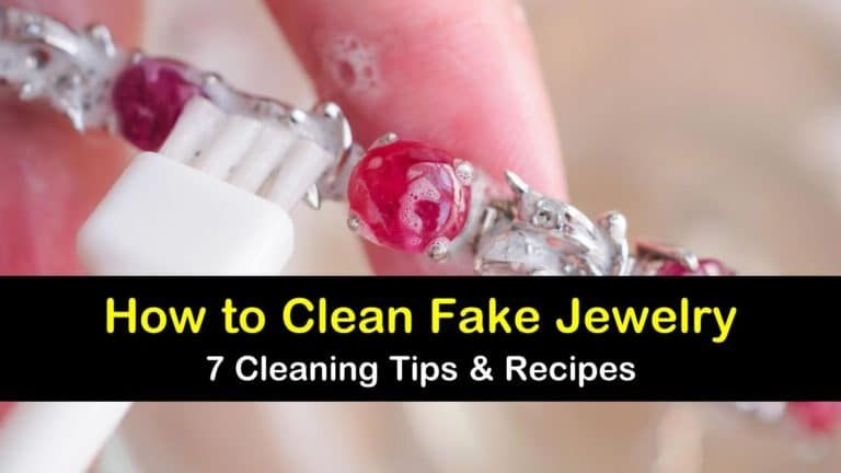 7 Fast Easy Ways To Clean Fake Jewelry Fake Jewelry How To Clean Earrings Cleaning Silver Jewelry