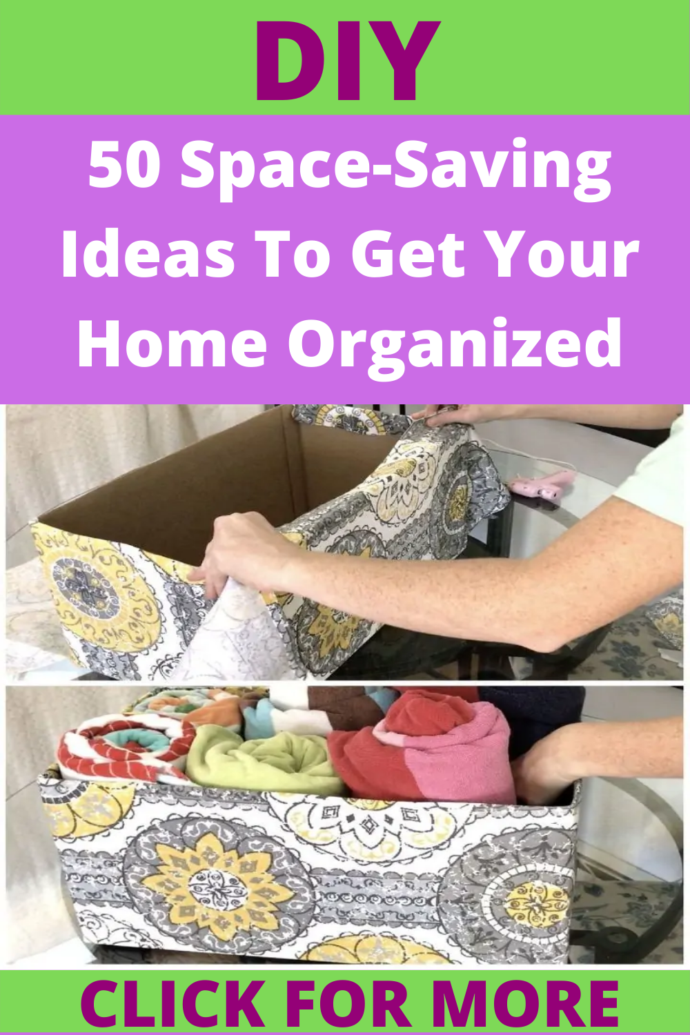 50 Space-Saving Ideas To Get Your Home Organized