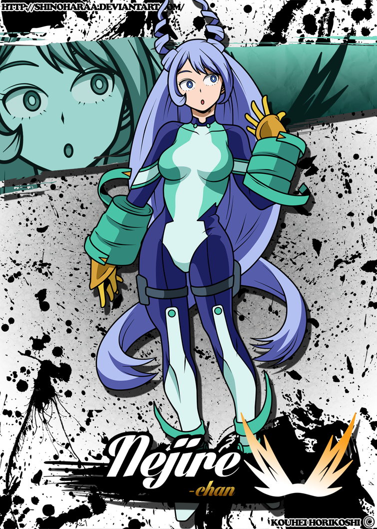 Nejire Hado My Hero Academia Anime Art Nejirehado Myheroacademia Anime Hero Wallpaper Hero Anime Wallpaper