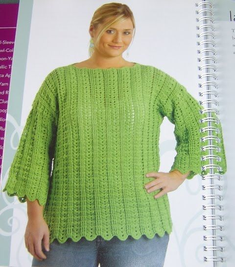 Free Plus Size Crochet Patterns Ibovnathandedecker