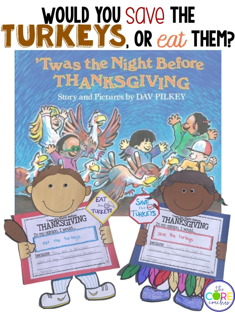 Twas the Night Before Thanksgiving: Interactive Read Aloud Lessons ...