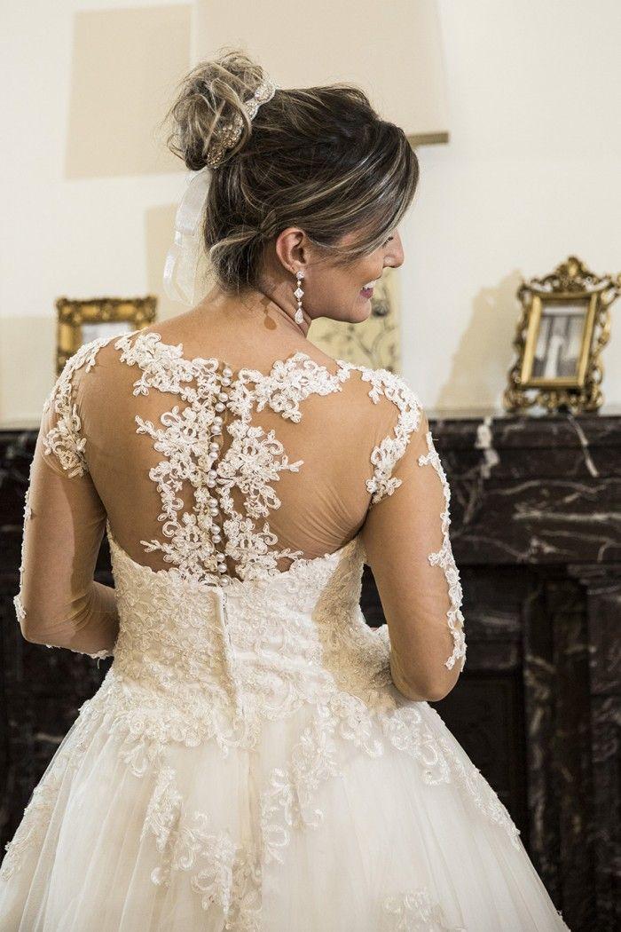 Vestido de Noiva modelo Petra