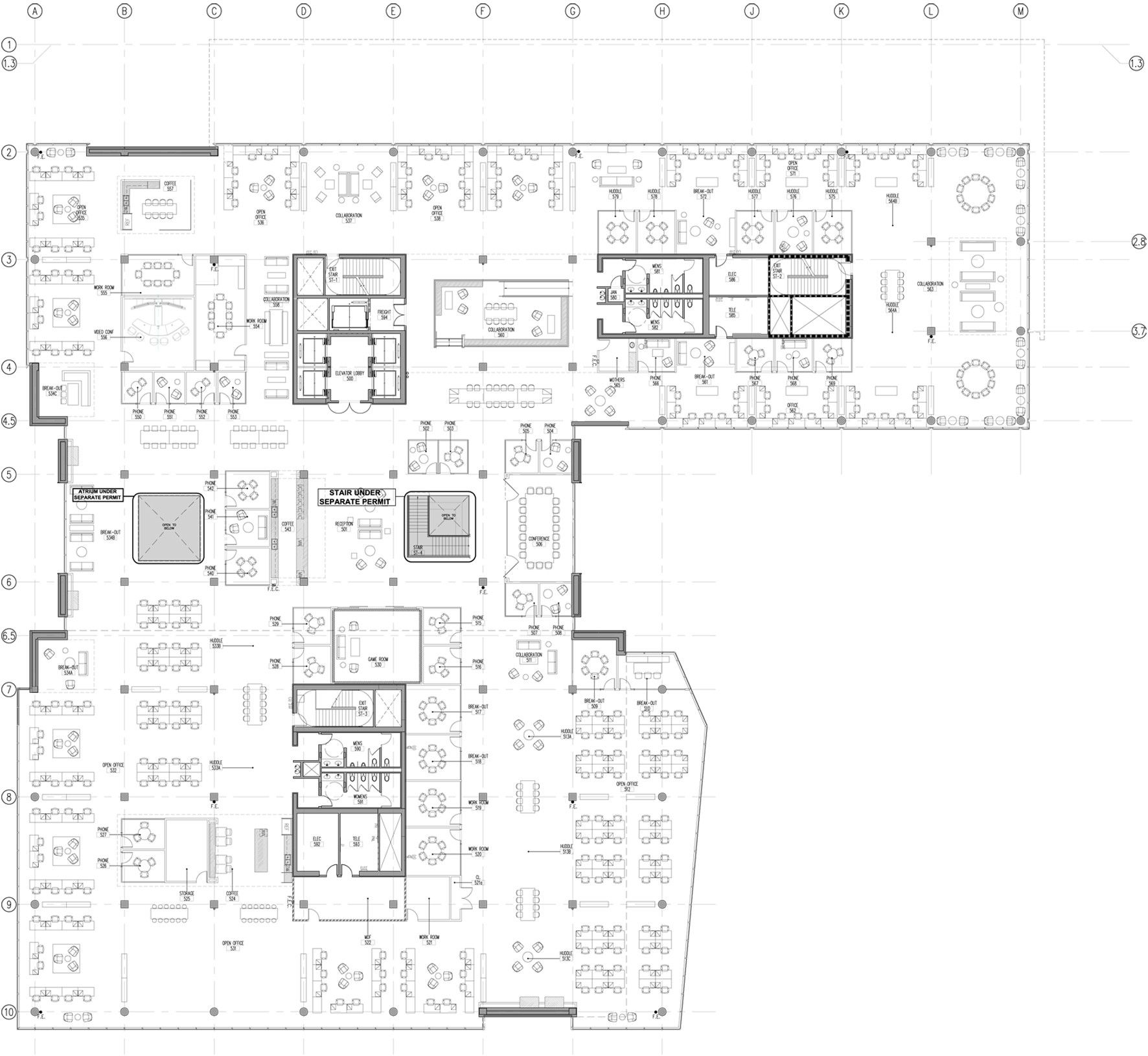 Gallery Of Cisco Offices Studio O A 34 In 2020 Office Floor