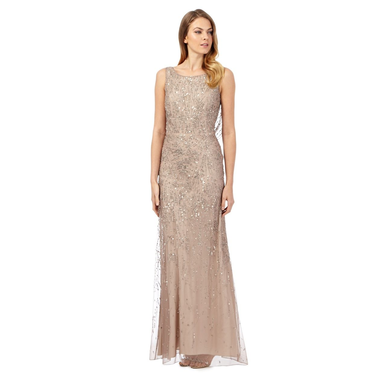 Debut bronze eclipse hand embellished evening dress at debut bronze eclipse hand embellished evening dress at debenhams bridesmaid ombrellifo Image collections