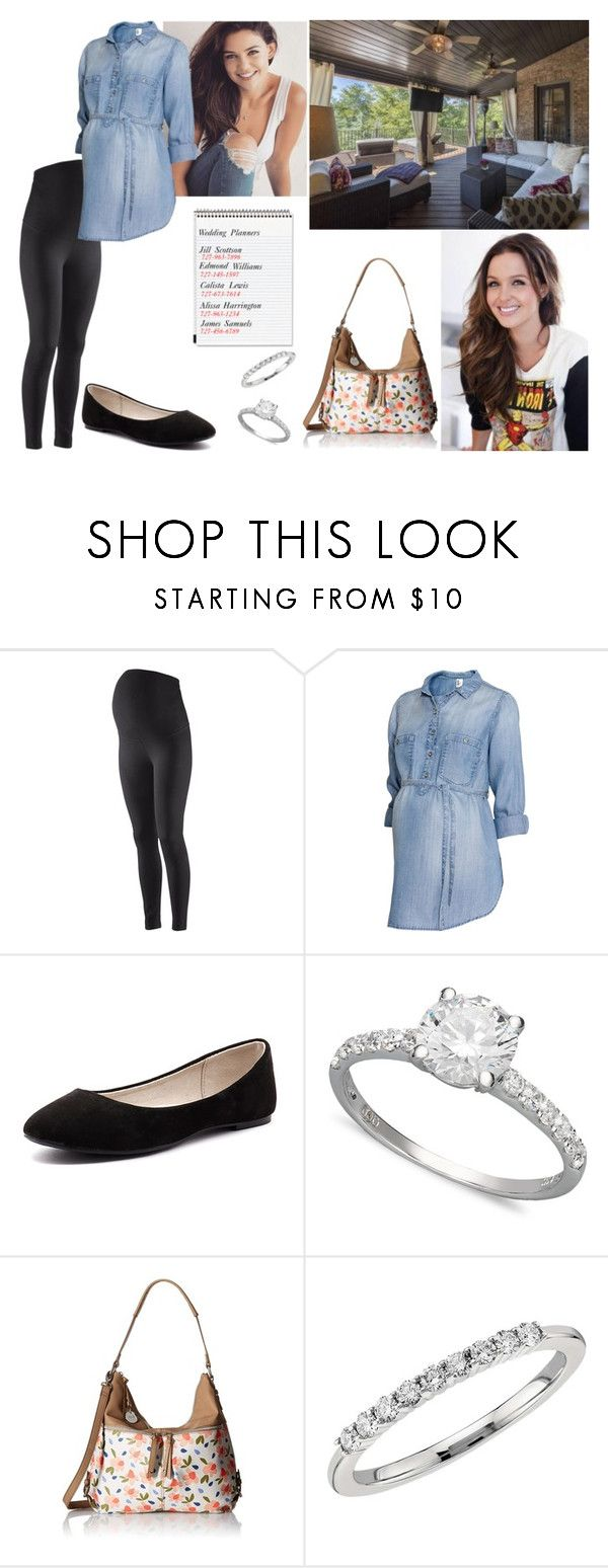 """""""Visiting Riley"""" by samanthavance05 ❤ liked on Polyvore featuring H&M, Verali, Arabella, Relic, Blue Nile and Mead"""