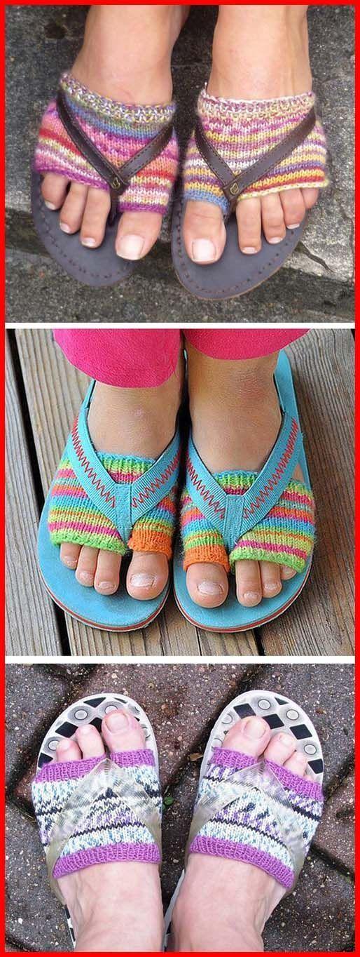 Photo of Flip Flop Socken Free Knitting Pattern #diy knitting for beginners #diy knitting…