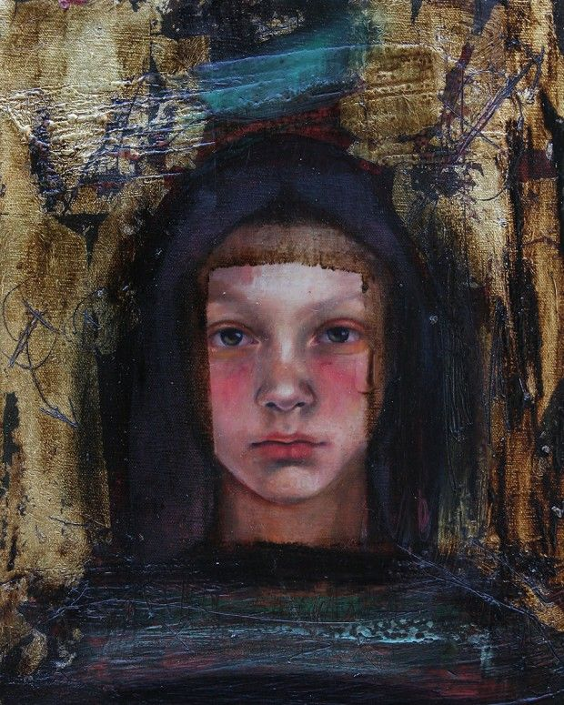 Nyx Painting By Rudolf Rox Artmajeur