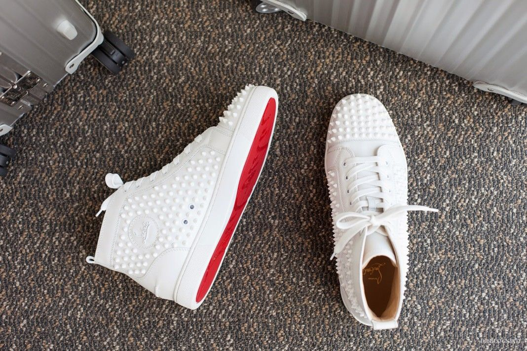 2817ccf24d3 10 Must Buy White Luxury Sneakers for Men | Shoes | Louboutin shoes ...