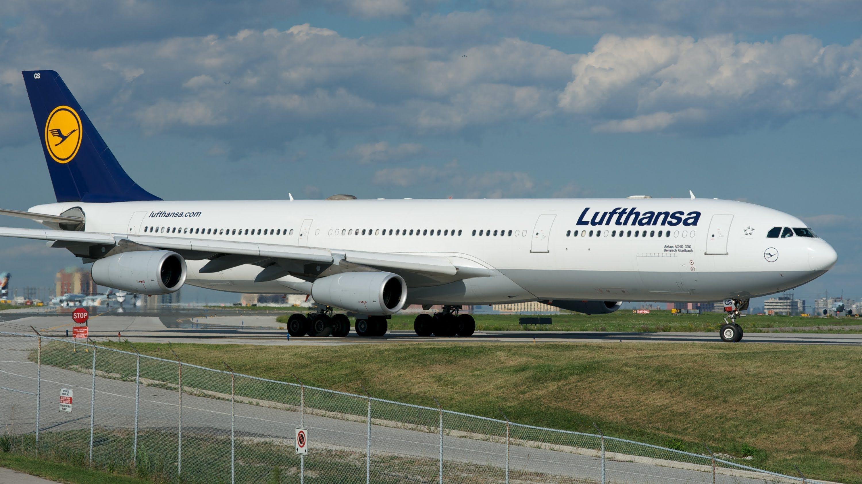 Lufthansa Airbus A340300 Ottawa, Munich airport
