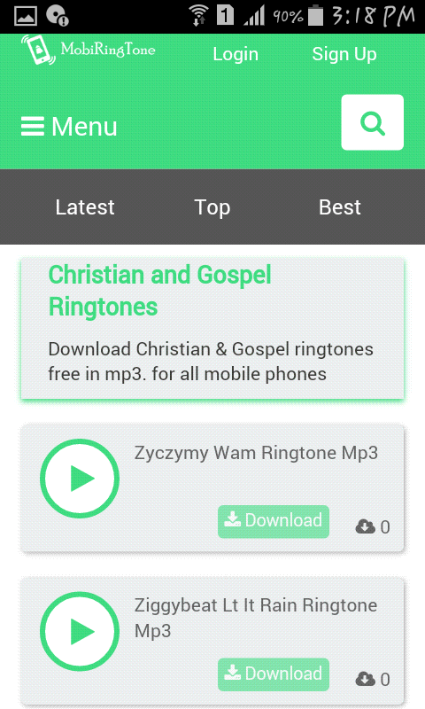 Download Christian Gospel Ringtones Free In Mp3 For All Mobile Phones