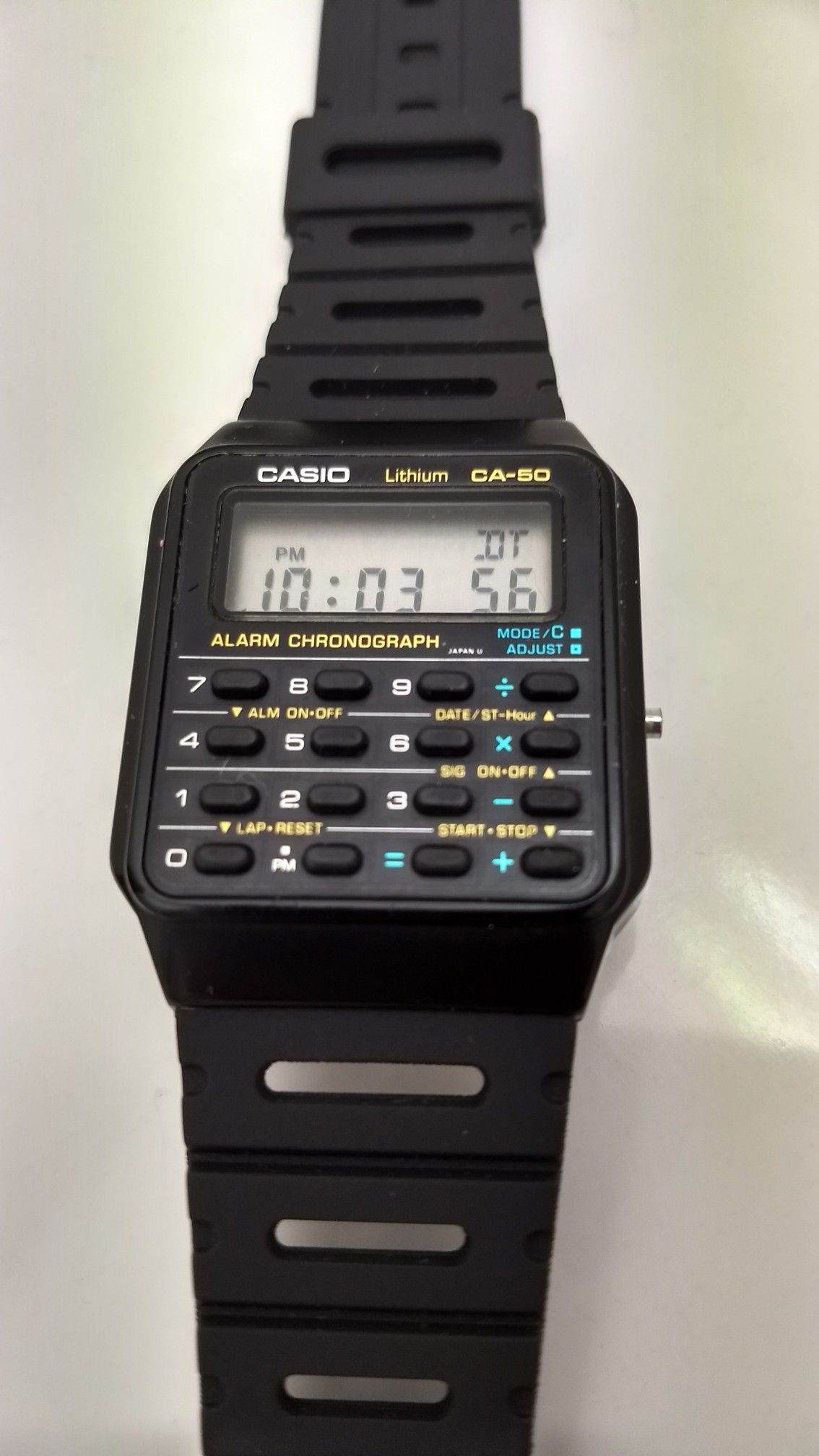 aea11aac9119 Casio CA-50 Back to the future