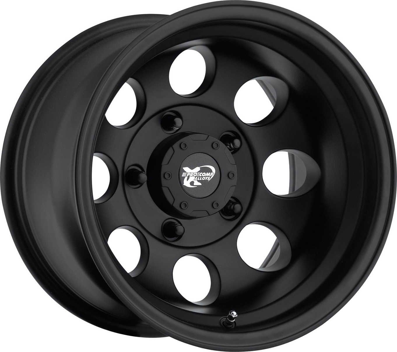 Pro Comp Series 7069 Wheel For 55 86 Jeep Cj Pro Comp Black