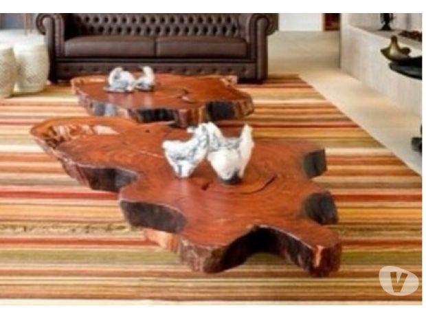 Resultado de imagem para mesa de centro de madeira rustica - Mesas de centro rusticas ...