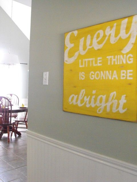 Every Little Thing Is Gonna Be Alright :) | Words I Love | Pinterest ...